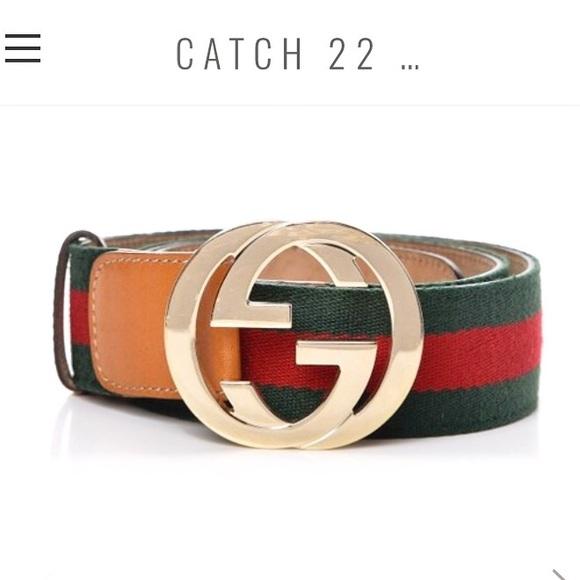 630fc6e49f52 Gucci Accessories | Signature Web Belt With G Buckle Sz S | Poshmark